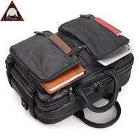 ANAPH переноска на багаж коровья кожа ноутбук дорожная сумка для мужчин Мульти функция ночь Weekender Duffle Большой Емкости Tote Черный