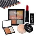 Class Makeup Set Magical Halo Makeup Combination Lipstick + Loose Powder + Eyeshadow Pencil + Concealer + Bronzer Press Powder