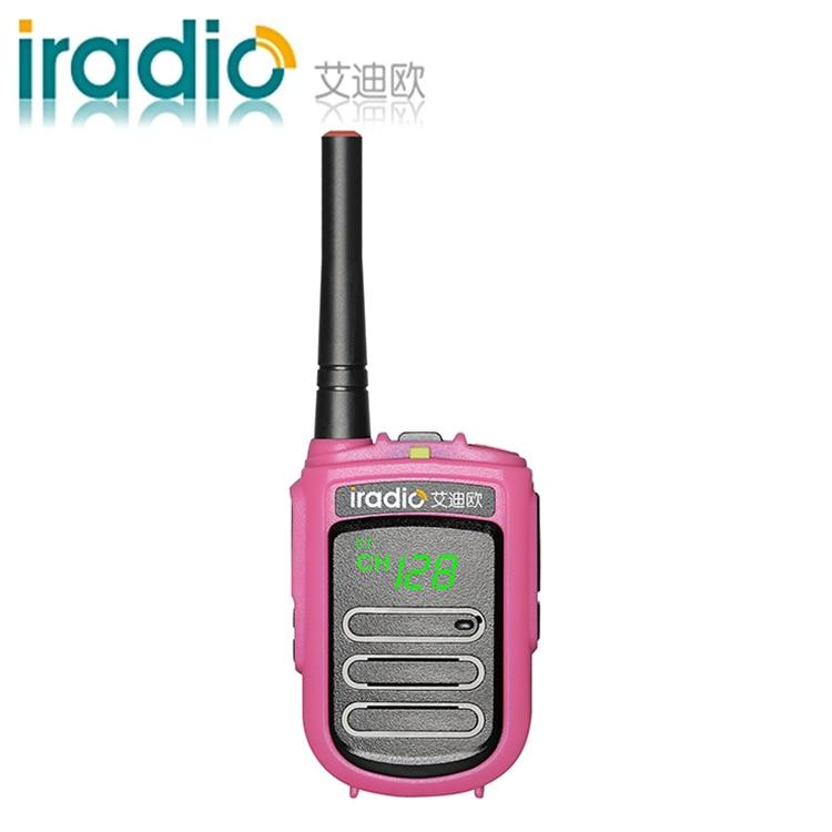 Image 4 - 100% оригинал CE FCC iradio CP 168 маленькая рация дети двухстороннее радио мини рация ветчина радио PMR FRS-in Рация from Мобильные телефоны и телекоммуникации