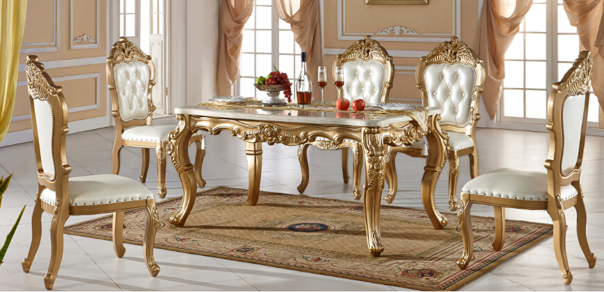 Delightful Hot Selling Luxury Dining Table And Chair