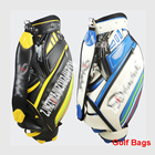 DBQB04 New golf bag, professional handbag ball, PU golf bag, high quality men's golf ball bag PU Material golf aviation bag