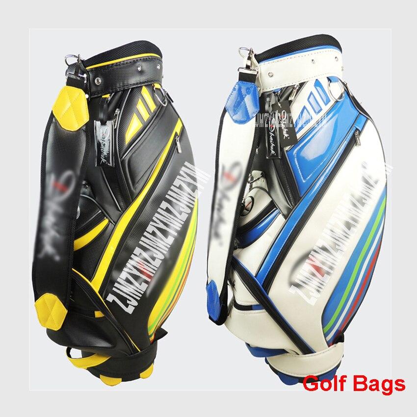 цена на DBQB04 New golf bag, professional handbag ball, PU golf bag, high quality men's golf ball bag PU Material golf aviation bag