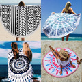 Round Thick Mandala Tapestry  Wall Hanging Beach Throw Towel Yoga Mat Picnic Blanket Shawl Bohemia Decor Carpet Rug Tapestry