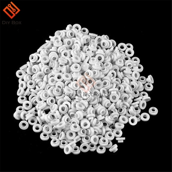 100PCS/Lot Insulating Tablets Insulation Bushing Transistor Plastic Washer Insulation Pads Circle TO-220 10 pcs to 220 silicone thermal heatsink insulator pads w insulating particles for lm78xx lm317 tdaxx