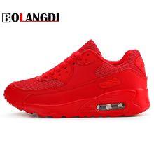 Bolangdi Air Mesh для женщин мужчин легкий спорт на открытом воздухе кроссовки пары дышащая мягкая атлетика бег спортивная обувь