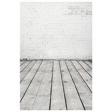 ETC 2.1*1.5M Brick Wall Wood Floor Backdrops Studio Photography Props Background Photo