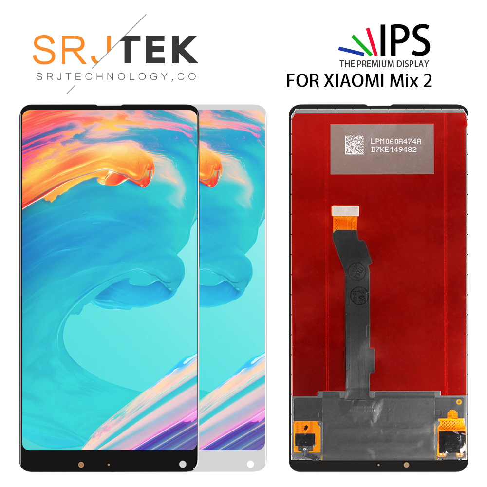 Srjtek 5.99 LCD For XIAOMI MI Mix 2 Display Touch Screen Digitizer Replacement For Snapdragon 835 XIAOMI MI MIX 2 LCD MIX2Srjtek 5.99 LCD For XIAOMI MI Mix 2 Display Touch Screen Digitizer Replacement For Snapdragon 835 XIAOMI MI MIX 2 LCD MIX2