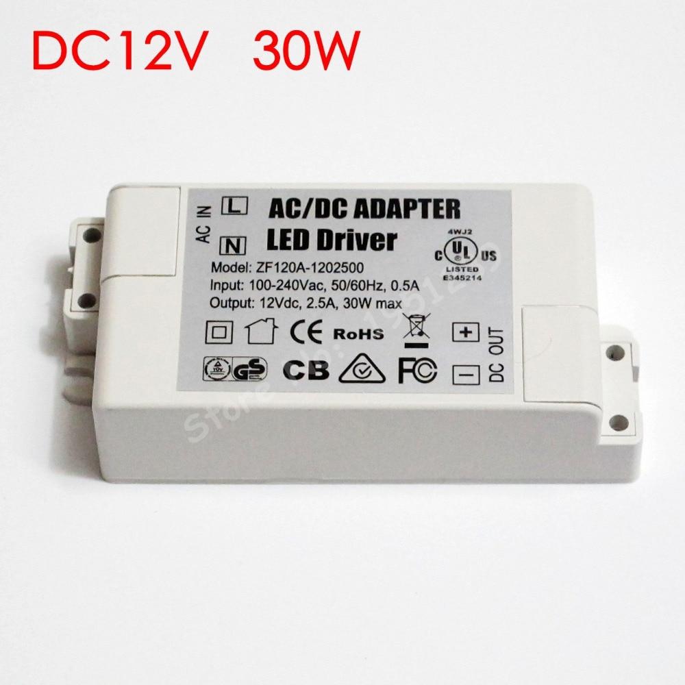 High Efficiency 300ma 8 25w Led Driver 8w 10w 12w 14w 16w 18w 20w Dc12v To Dc28v Converter With Lm2585 30w 2500ma Mr16 Mr11 Ac Dc Adapter Transformer Input 100v 240v