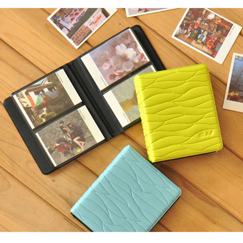 64 Pockets Mini Instant Polaroid Photo Album Insert Album 8.5X6CM Picture Case Storage for Fujifilm Instax Mini Film card Album