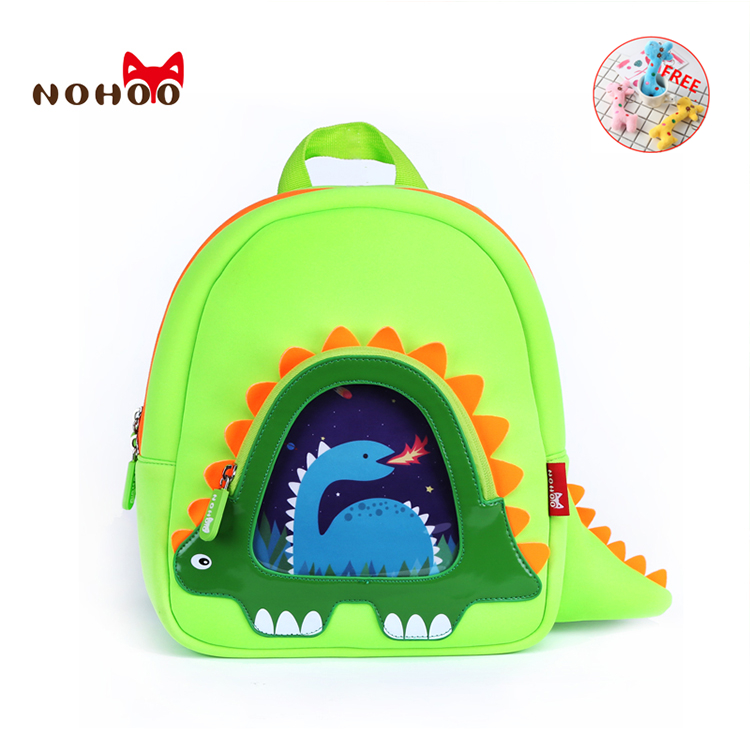 NOHOO 3D unicorn bag kids Bag for girls boys Children school bags cute  waterproof Backpacks cartable scolaire fille randoseru gg