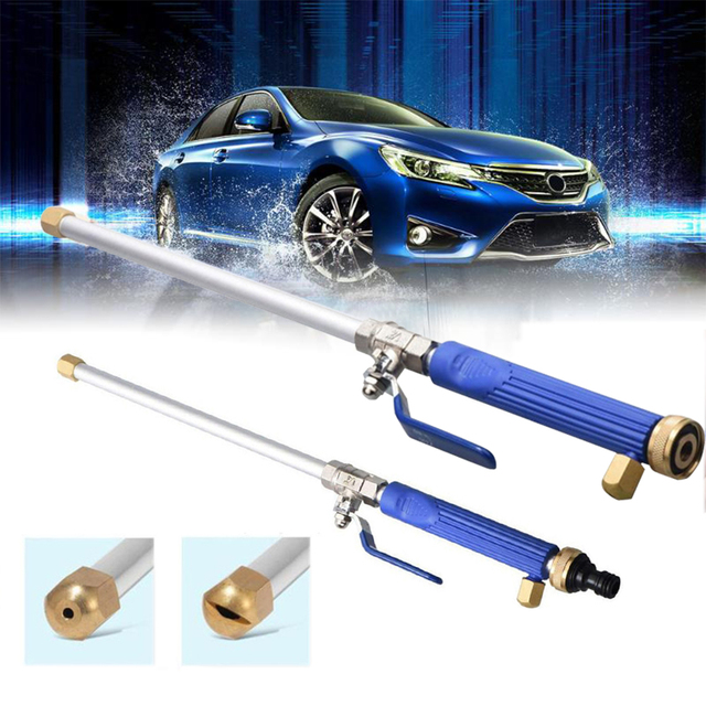 Alloy Wash Tube Hose Car High Pressure Power Water Jet Washer with 2 Spray Tips Tools Auto Cleaner Watering Lawn Garden Styling