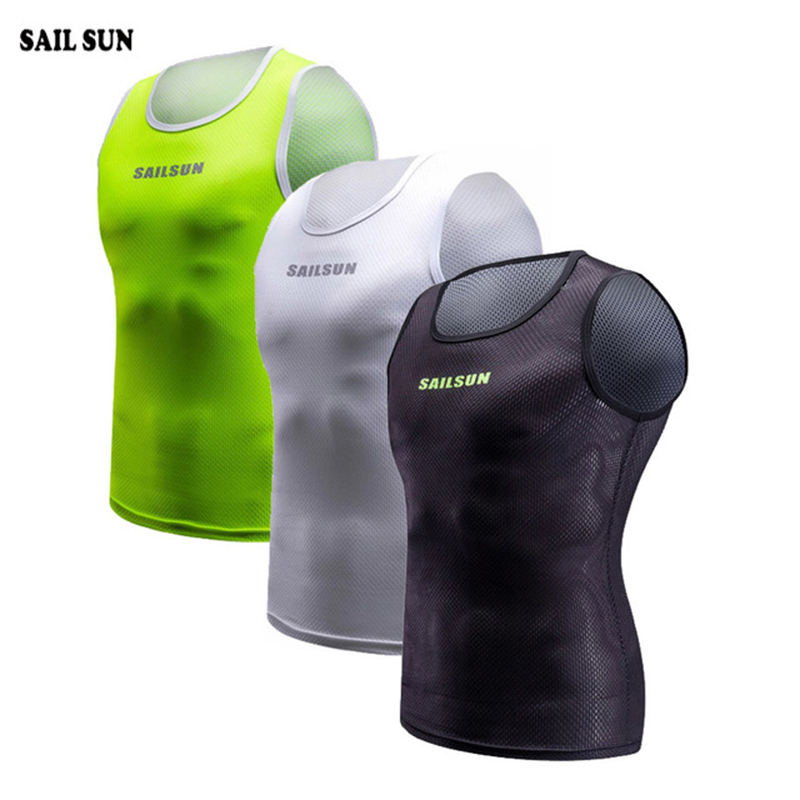 2019 SAIL SUN Cycling Vest Men Summer Cycling Sleeveless MTB Women Sport Outdoor Bike Vest Coolmax Ropa Ciclsimo Bike Clothing