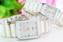 Longbo Marque Femmes Montres Hommes Top Marque Lxury Célèbre 2016 Montre-Bracelet Horloge Femme Homme Quartz Montre-Bracelet En Céramique Quartz-montre