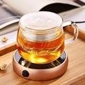 Escritorio Eléctrico Portable Calentador de Café Caliente para Preparar Té Café Leche Taza de la Taza Warmer Calentamiento Bandejas