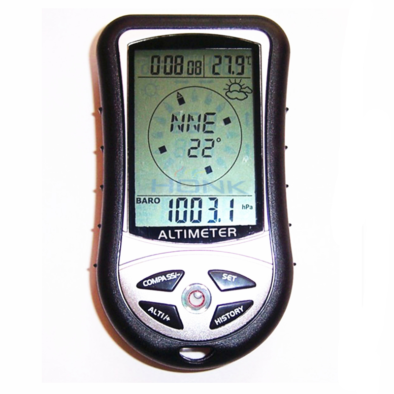 Image 3 - HSEAYM 8 in 1  Electronic Altimeter Compass Barometer Elevation  Table Outdoor Thermometer Hunting Hiking Fishing Compass8 in 1  altimeterthermometer hikinghiking thermometer