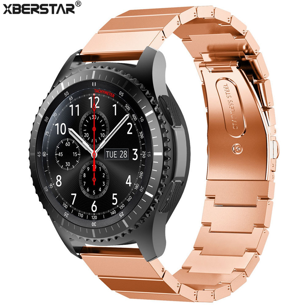 compare prices on rolex men watches online shopping buy low price new genuine stainless steel bracelet smart watch bands strap for samsung gear s3 frontier watch
