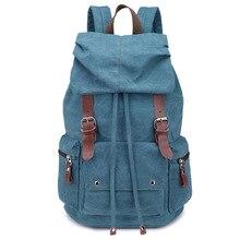 men's rucksack Men travel rucksack Large capacity leisure bags Men's backpack Canvas Backpack