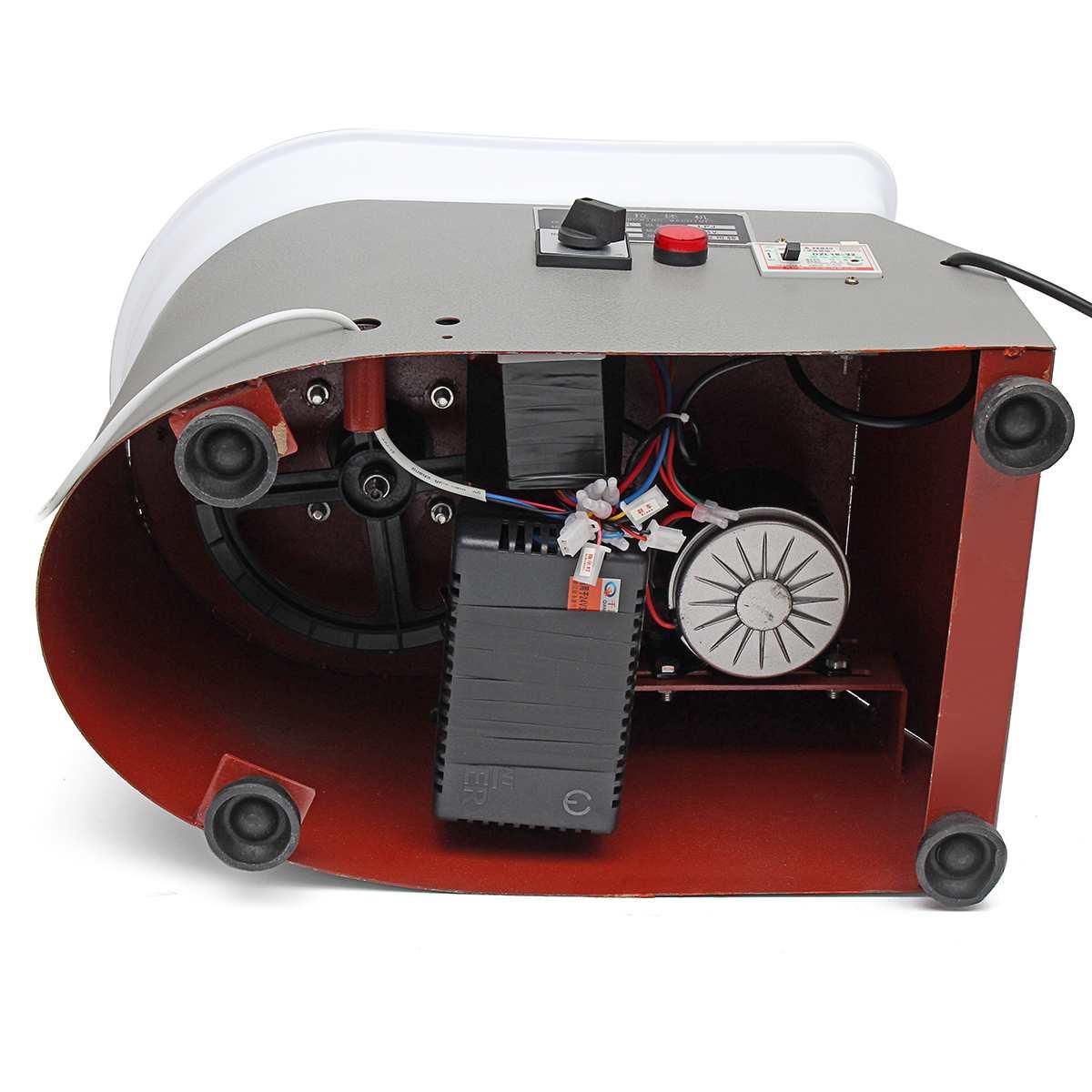 Poterie formant la Machine 220 V 350 W roue de poterie électrique argile pour travaux pratiques outil avec plateau pédale de pied Flexible pour céramique travail céramique - 4