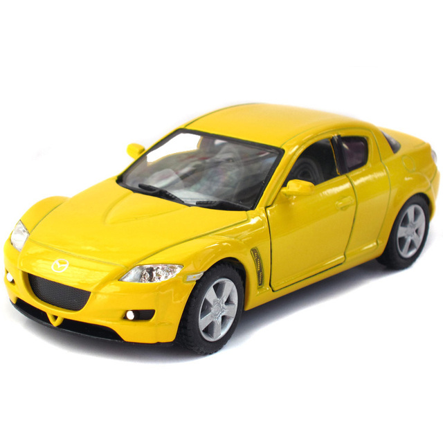 Kinsmart Alloy Toy Car Mazda Rx8 Model The Door Warrior