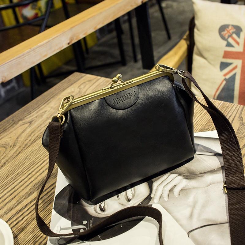 ombro bolsas de couro bolsa Estilo 2 : Bolsa Feminina