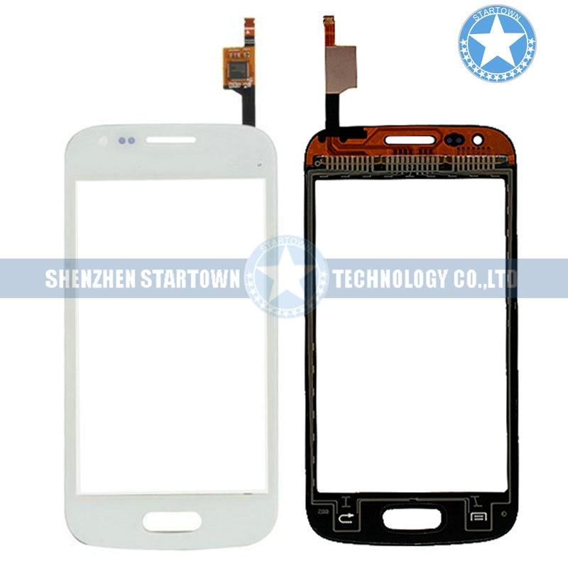 Reemplazo del digitalizador de la pantalla táctil de la Lente de Cristal blanca para Samsung Galaxy Ace 3 S7270 S7272 S7275