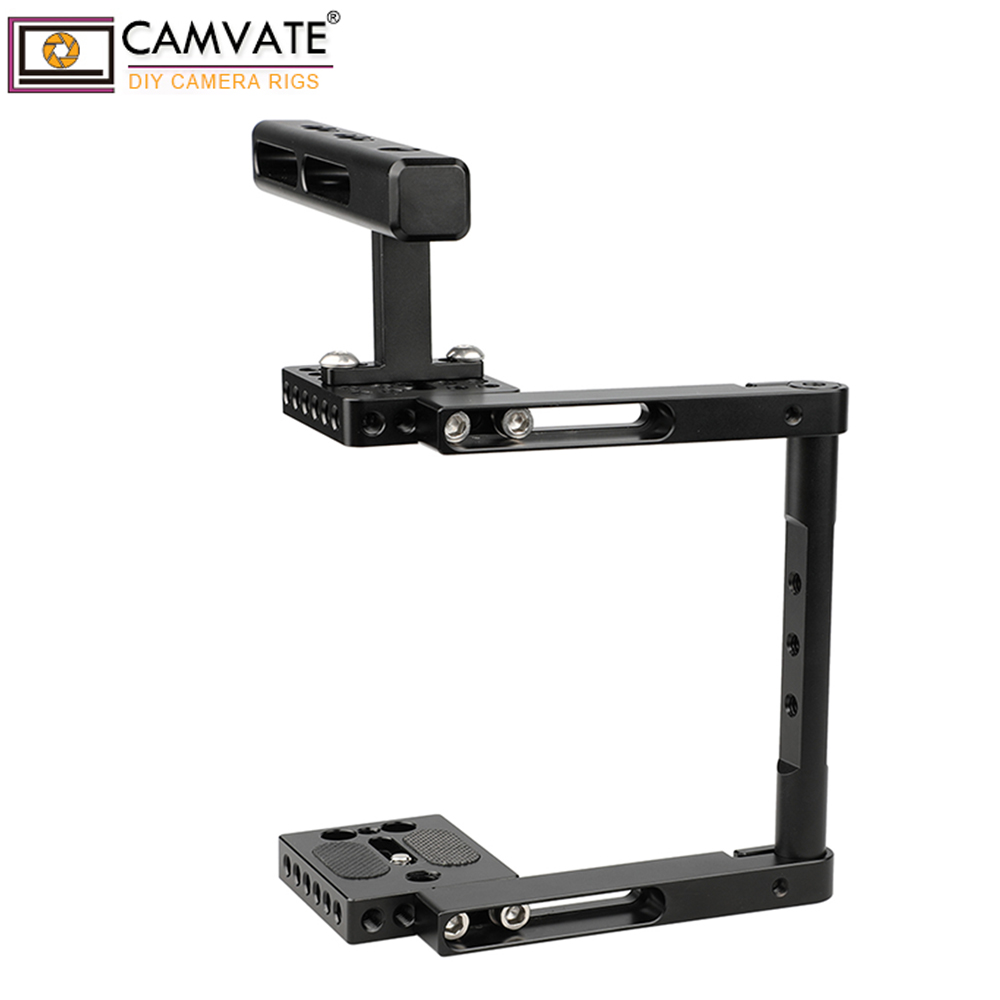 CAMVATE Basic Camera Cage Rig With Top Handle Universal Use C1897