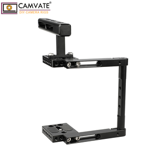 Image 4 - CAMVATE Aluminum Alloy Camera Generic Cage Rig With Top Handle For DSLR Camera Stable Support System Photography Accessories New