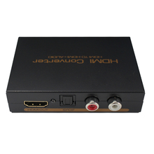 HDMI Audio Extractor 5.1ch  2.0ch  HDMI Audio Extractor Splitter HDMI To Audio Extractor Optical TOSLINK SPDIF + L/R