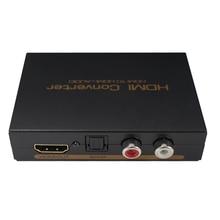 HDMI אודיו Extractor 5.1ch 2.0ch HDMI אודיו Extractor ספליטר HDMI כדי אודיו Extractor אופטי TOSLINK SPDIF + L/R