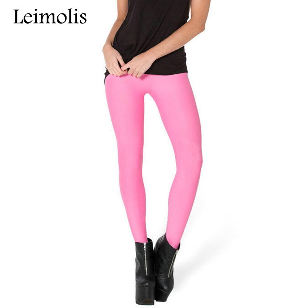 Leimolis 3D printed fitness push up workout leggings women gothic retro blue pink black plus size High Waist punk rock pants