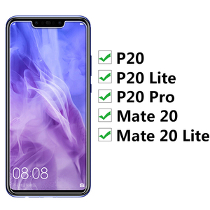 Image 2 - For huawei mate 20 lite glass Protective P20 lite Pro P 20 P20lite P20Pro tempered glas Screen Protector On Mate20 20lite matte
