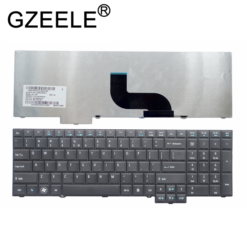 GZEELE NEW English Laptop keyboard FOR <font><b>Acer</b></font> TravelMate 6595T 6595TG 7750 7750G 7750Z <font><b>7750ZG</b></font> 6595 6595G 5360g image