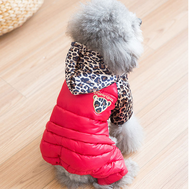 Winter Dog Clothes Thicker Clothes For Dogs Soft Cotton Puppy Coat Pet Pruducts terrier Chihuahua Clothing For Small Dogs XS XXL
