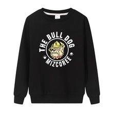 Bull Dog Print Sweatshirt