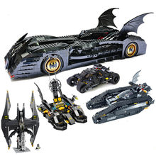 Genuine Legoingly Batman Tumbler BatMobile Fighter Tank Warship Compatible with 7784 Super Heroes Batman Blocks(China)