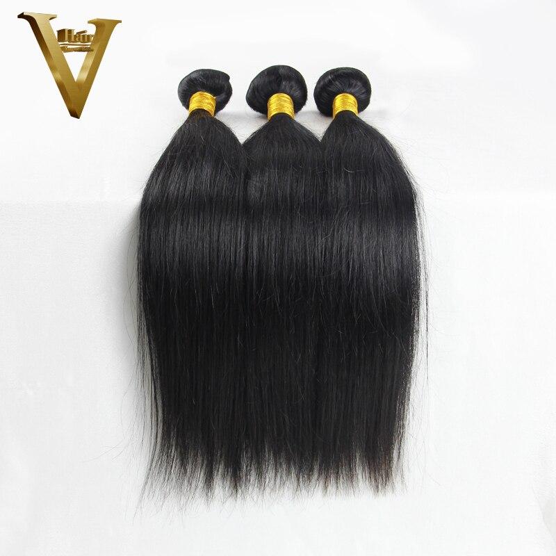 russian virgin hair straight bundles