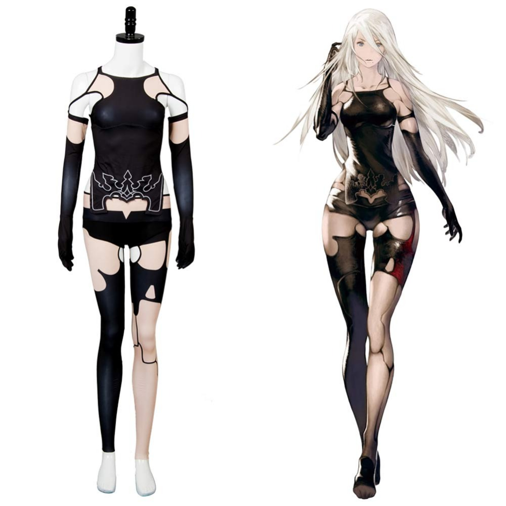 Premise Indicator Words: NieR:Automata 2B A2 YoRHa Type A No. 2 Dress Cosplay