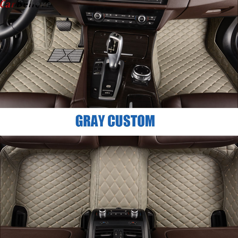 Car Believe car floor mat For <font><b>audi</b></font> <font><b>a5</b></font> <font><b>sportback</b></font> a3 a4 b5 b7 avant q7 2007 a6 c6 4f q3 q5 tt mk1 accessories carpet rugs image