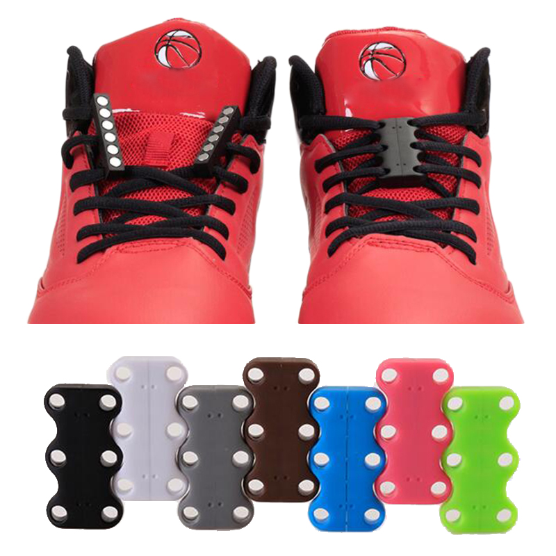 1 Pairs Magnetic Shoelace Buckle No-Tie Shoelace Sport Shoe Belt Shoelaces Magnetic Closure Magnets