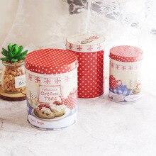 Zakka 3 шт./лот жестяная коробка Многофункциональный чехол для конфет или чая набор для домашнего хранения Горячая Распродажа коробка квадратная