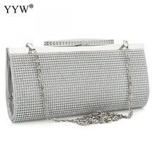 Akşam Parti Çantaları el çantası crossbody çanta Moda Pu Deri Taklidi gelin çantası kadın zincir düğün çantası
