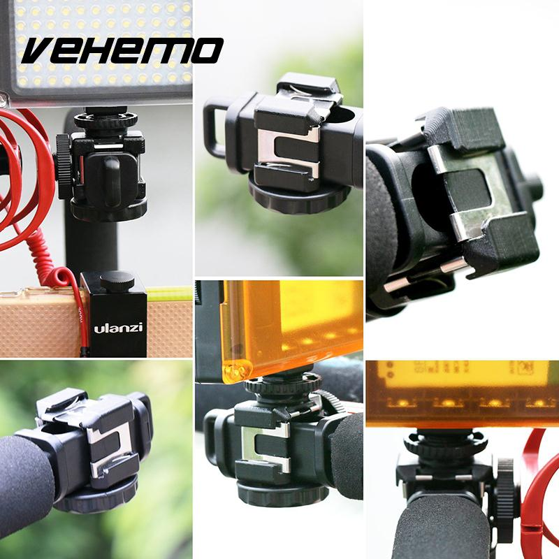 Vehemo 29 X 20 X 10.5 Cm 1PS Camera SLR Slide Hot Shoe Camera C-Type Bracket 1/4-20 Line Shoes Hanging (Removable)