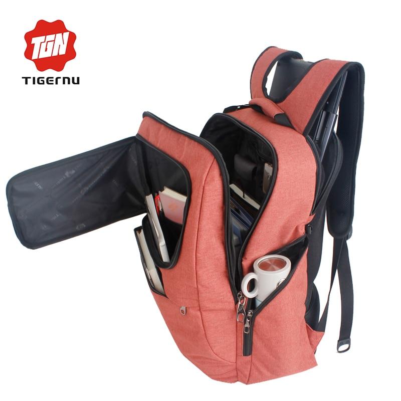 ФОТО TIGERNU 2017 New Design Waterproof  Fashion Backpack Women Mochila School Bag for Travel  Backpacks School Backpack for Girls
