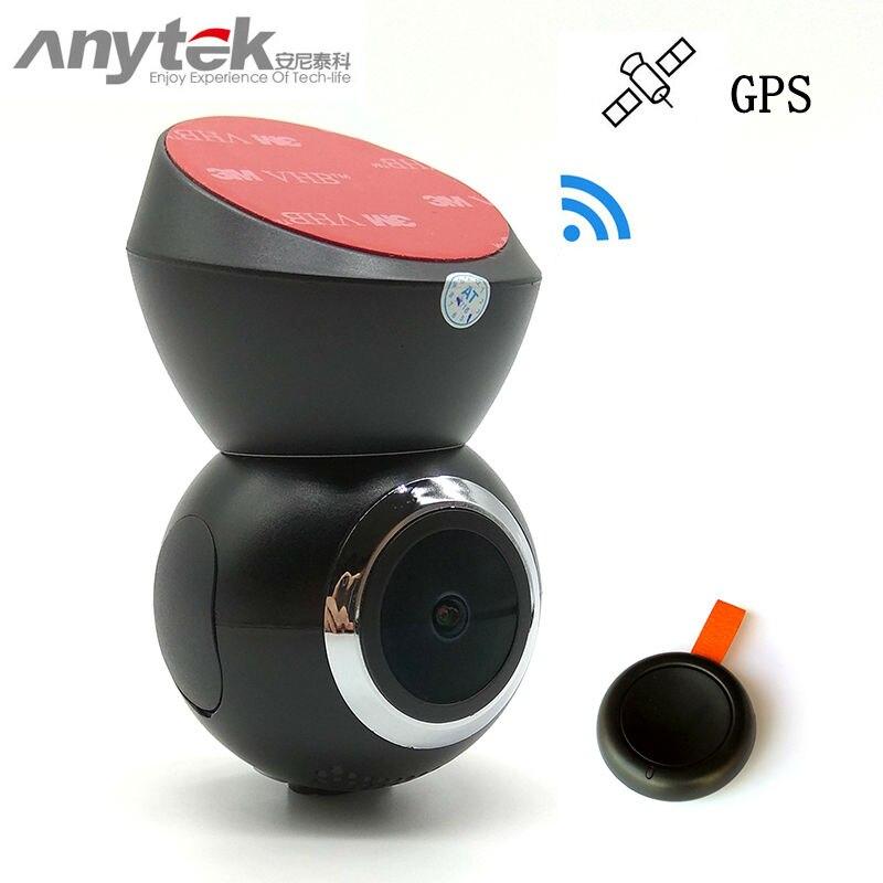 2018 d'origine anytek G21 haute-fin de voiture dvr caméra dvr wifi 1080 P full hd dash cam enregistreur vidéo registrator registraire gps logger