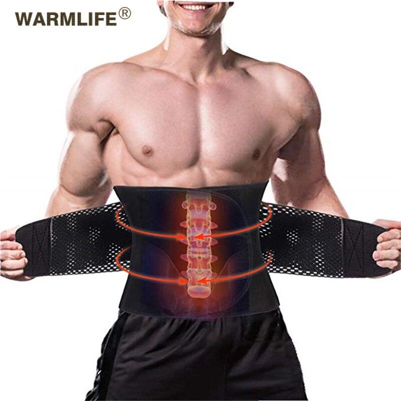 Yeni elastik bel destek kemeri dört çelik levha koruma turmalin kendinden ısıtma manyetik terapi bel masaj destek kemeri