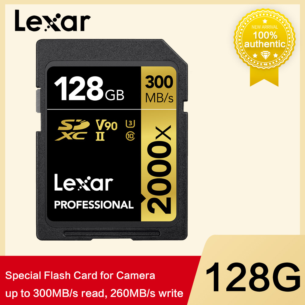 Lexar 128gb 64gb 32gb Limited Pen Drive 300mb s Sdhc 2000x For Sd Card Sdxc Uhs