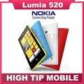 Nokia Lumia 520 Original unloced Dual Core 3 Г WI-FI GPS 5MP Камера 8 ГБ Хранения Windows Mobile Телефон отремонтированы Бесплатная Доставка