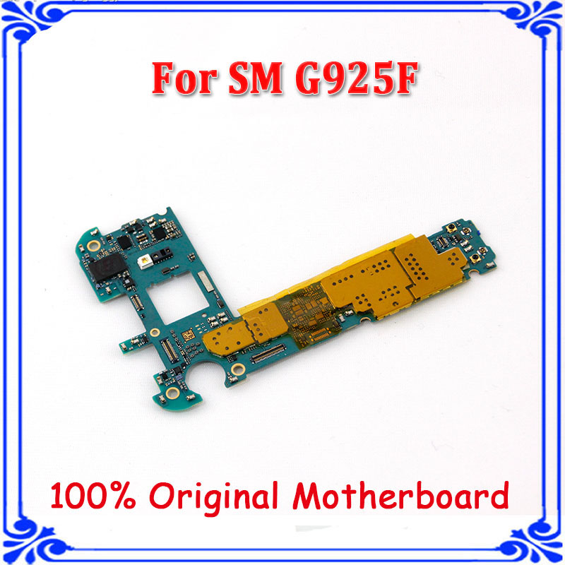 US $63 0 |Original Unlocked for Samsung Galaxy S6 Edge G925F G925i  Motherboard,Europe Version for Samsung S6 G925F Mainboard-in Mobile Phone  Antenna