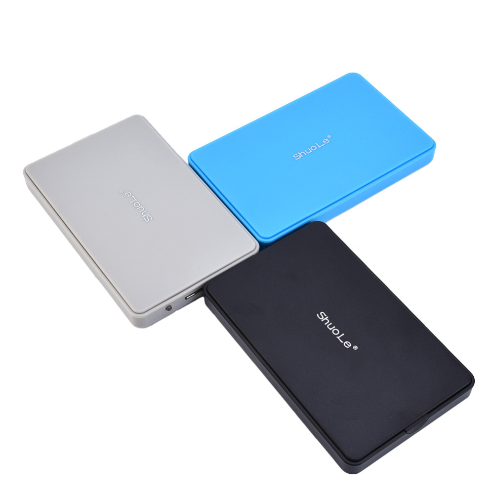 New ShuoLe 2.5 Inches HDD Enclosure Serial Port USB 3.0 Plug HDD Case 3.0 Mobile HDD Enclosure
