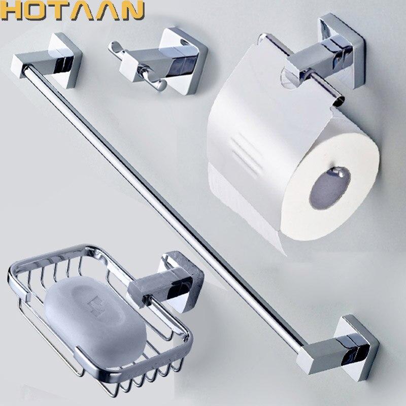 Handtuchhalter-Set Papierhalter Kleiderhaken für Toilette,Badezimmerzubehörset